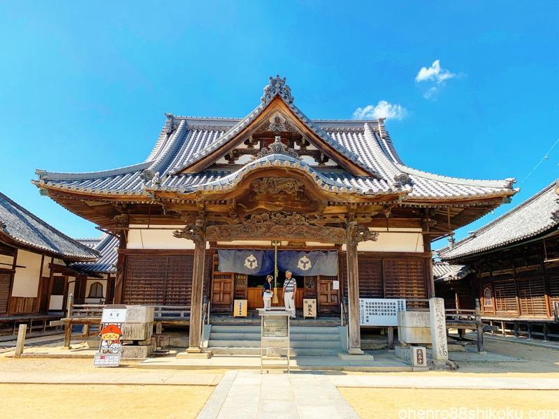 長尾寺本堂
