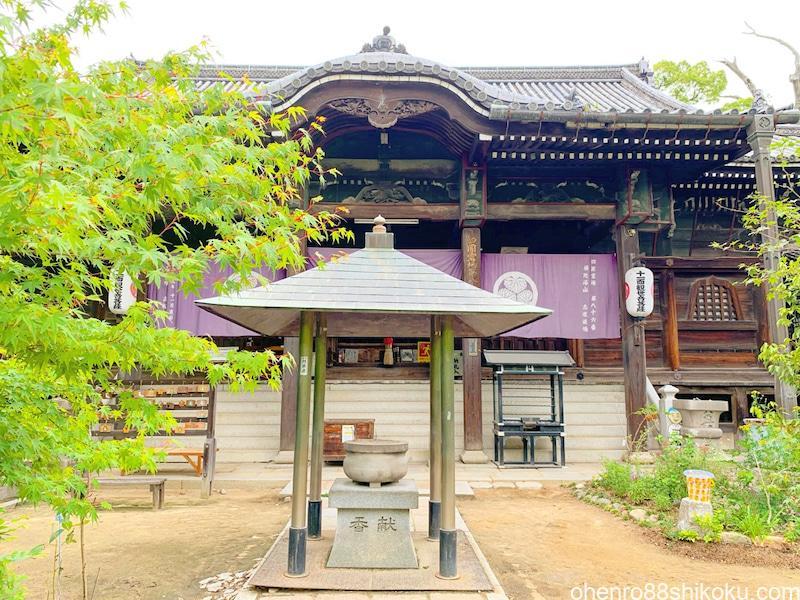 志度寺本堂