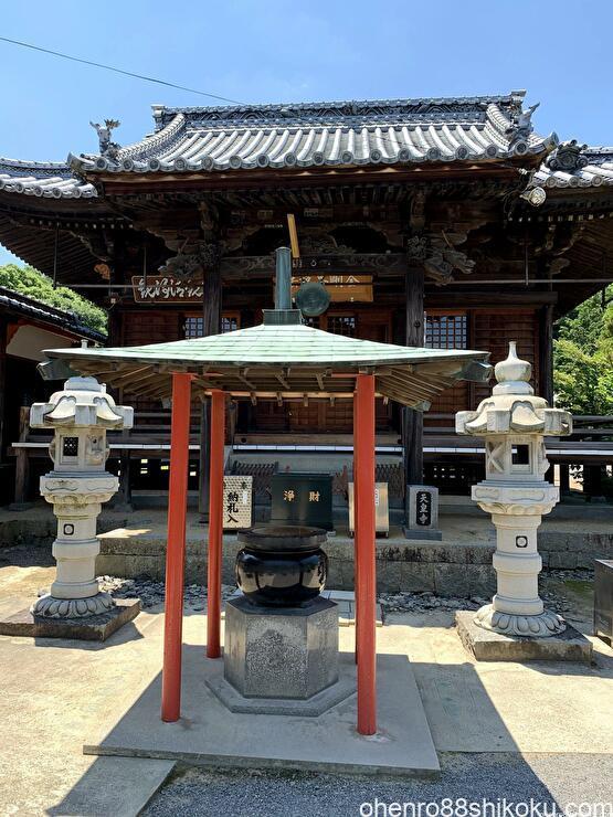 天皇寺本堂