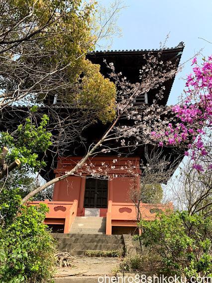 海岸寺二重の塔