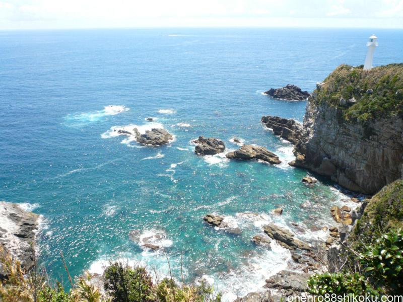 四国最南端の足摺岬