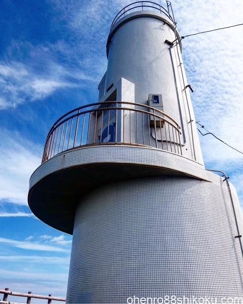 蒲生田岬の灯台