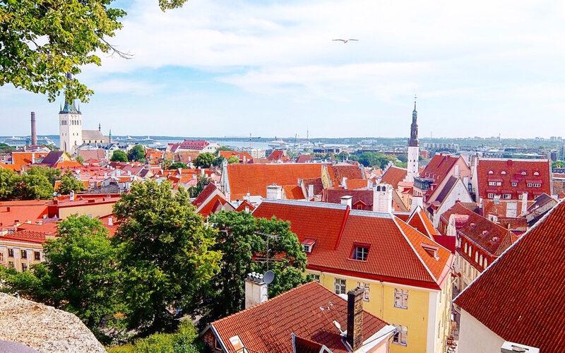 コフトゥ展望台からの旧市街の眺め