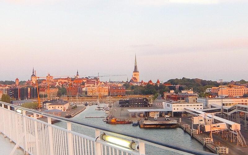 特典航空券でヘルシンキへ・タリン(エストニア)へはオーバーナイトクルーズ