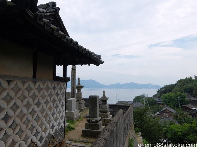 志々島の寺