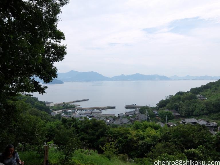 志々島高台からの風景