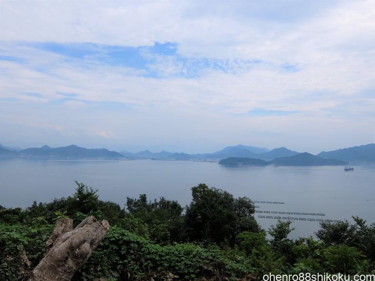 志々島山頂からの風景