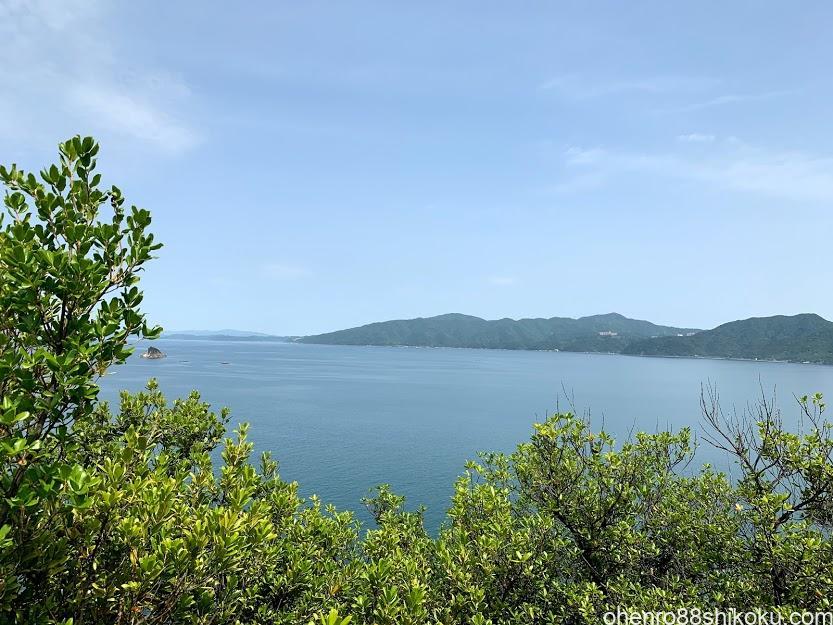 引田城灯台からの眺め