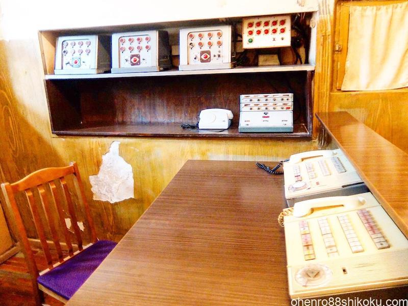 KGB博物館指令室