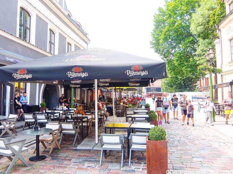 カウナス旧市街レストラン