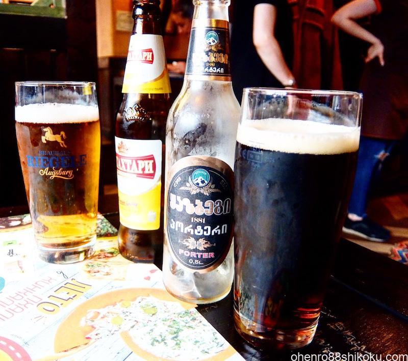グルジアのビール