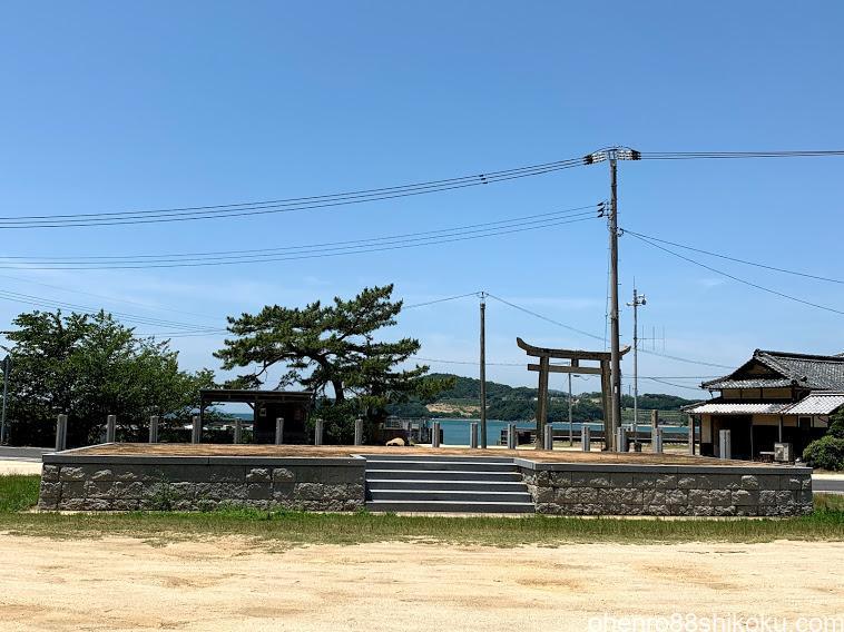 池田の桟敷