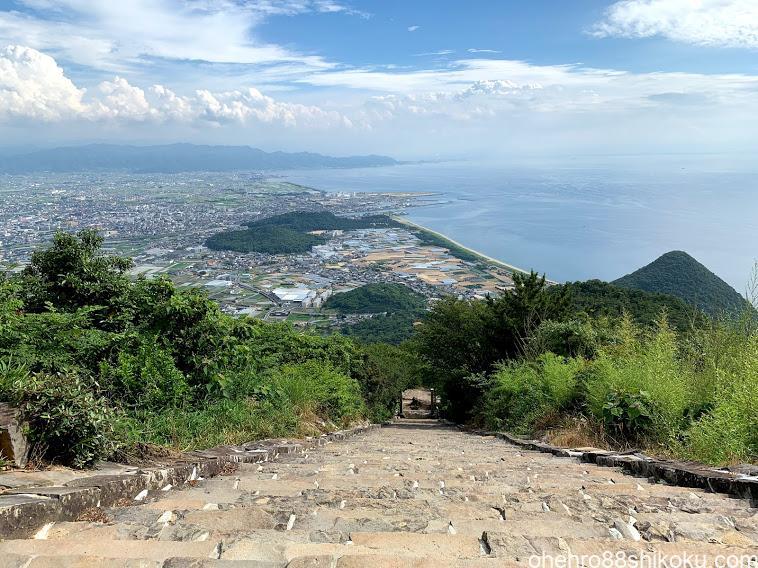 高屋神社 石段