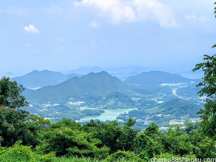 城山山頂からの眺め