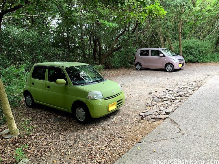 屋島登山口駐車場