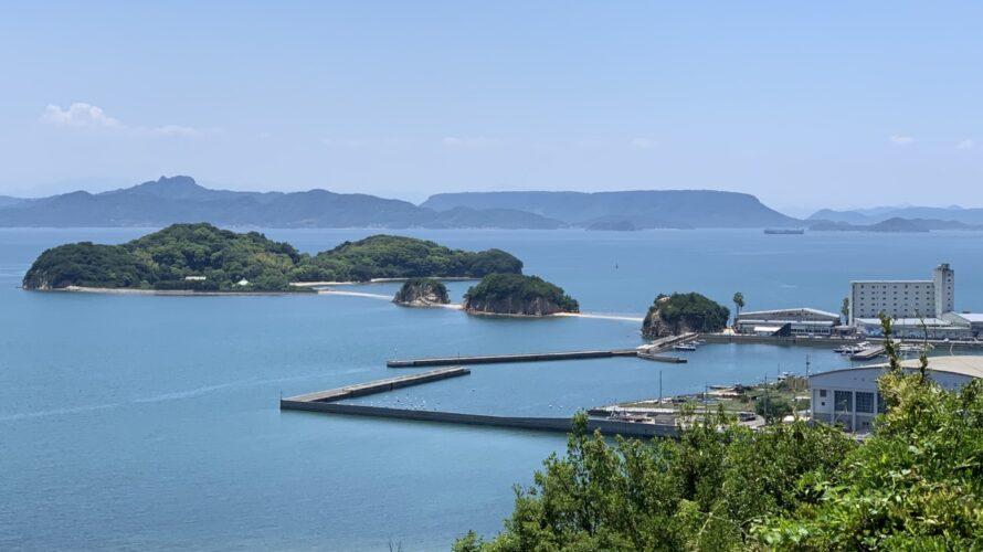 【小豆島】エンジェルロードに行ったら富丘八幡神社と双子浦も絶景です(おすすめ)