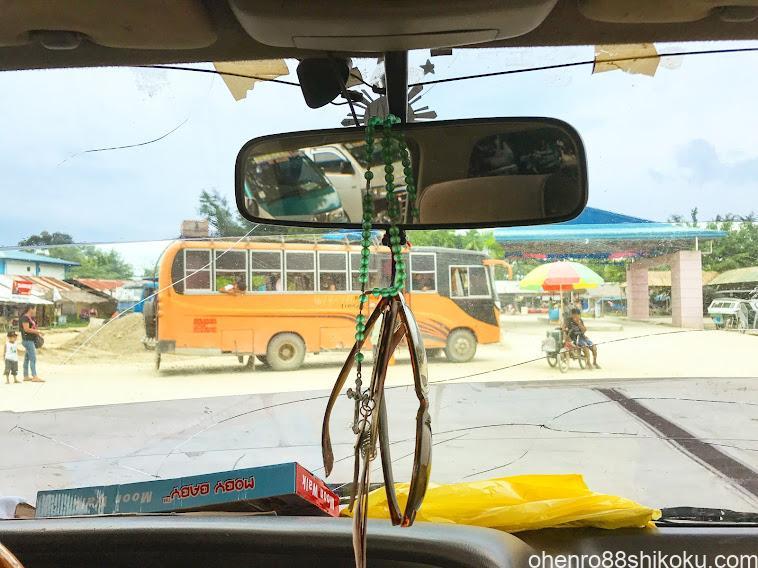 パラワンのローカルバス