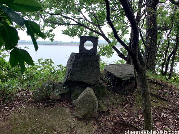 亀鶴公園 亀島