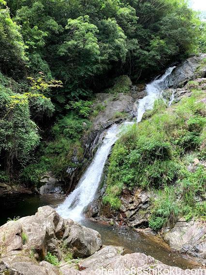 塩江の不動の滝