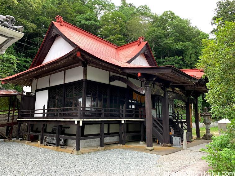 大瀧寺本堂