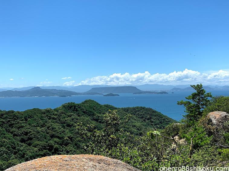 重岩からの景色