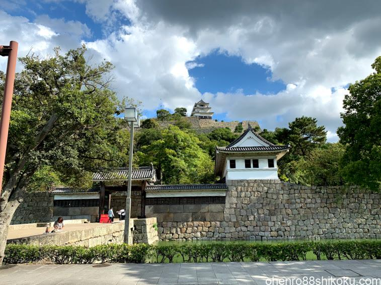 丸亀城大手門