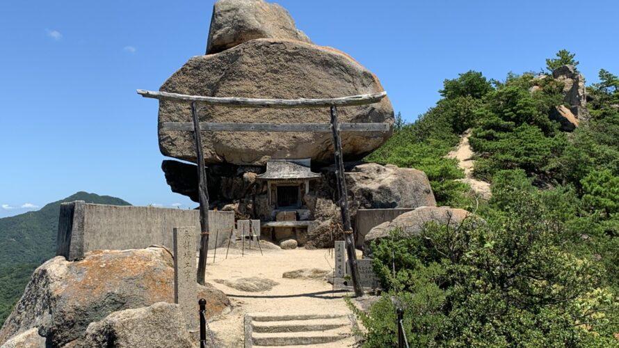 小豆島の絶景パワースポット【重岩】と洞窟の中に本堂がある【江洞窟】